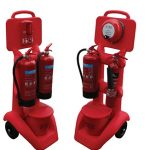 FireKart extinguisher stands