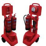 FireKart extinguisher stands